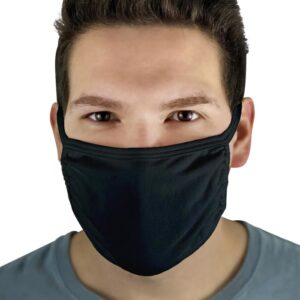 Fruit of the Loom Reusable Face Mask in Black
